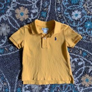 Like New Ralph Lauren Gold Cotton Polo 👕